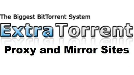 Extra torrent proxy