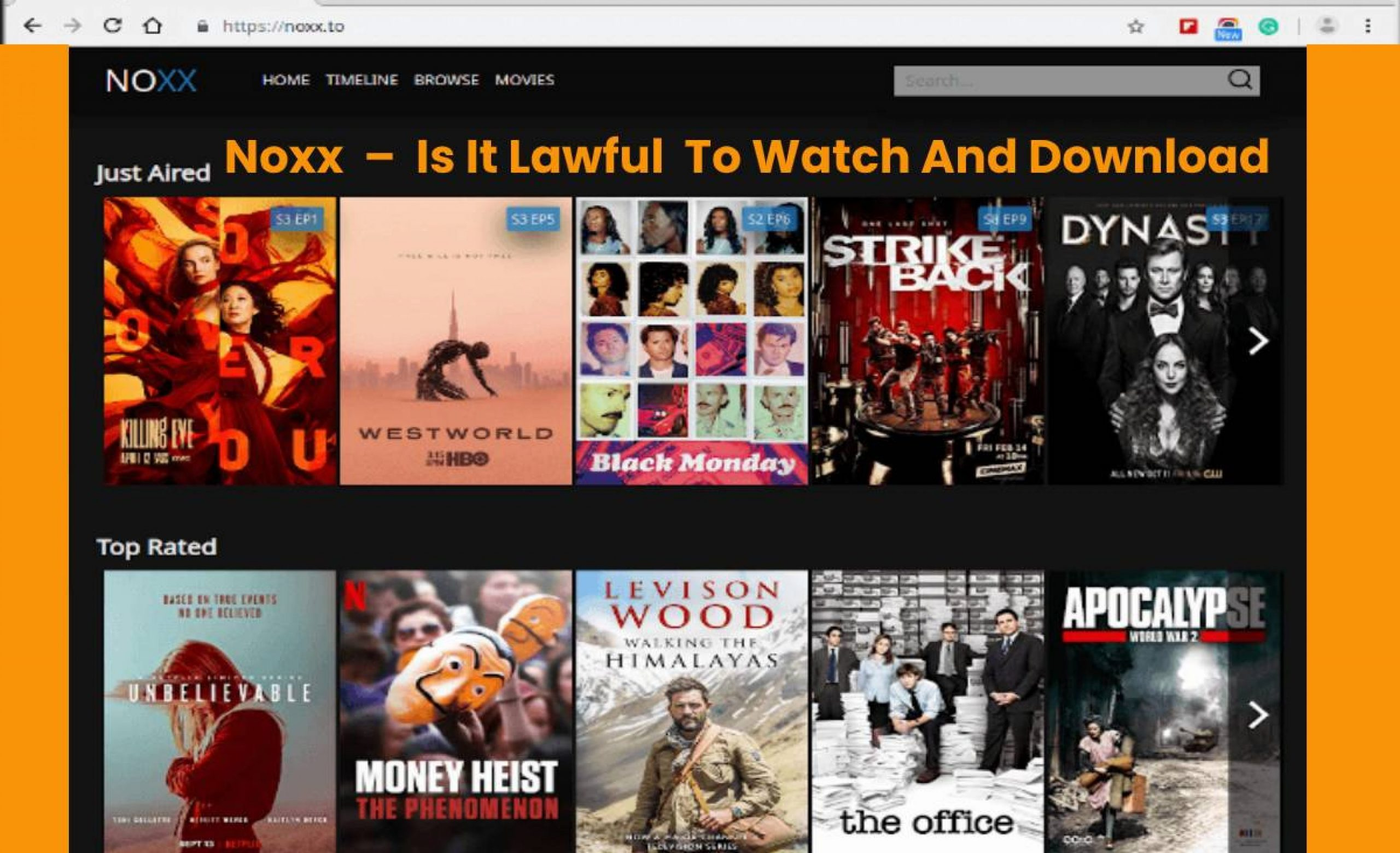 Noxx Best SolarMovie Alternatives