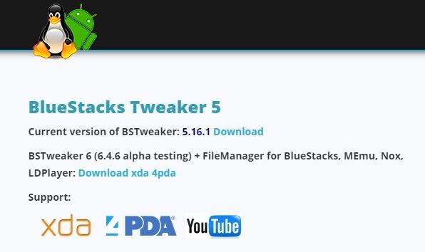 BSTweaker (Bluestacks Tweaker)