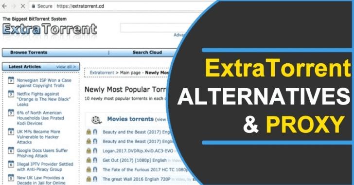 Extratorrents alternatives