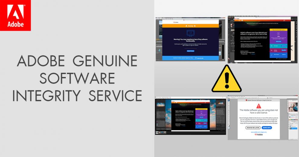 Adobe Genuine Software Integrity Service remove