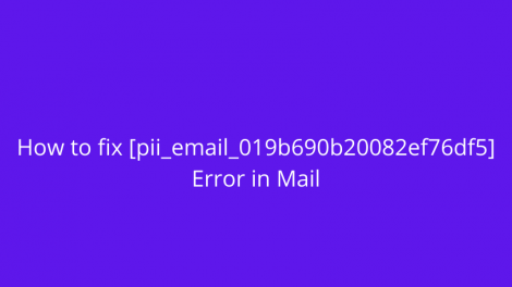 [pii email 019b690b20082ef76df5] Outlook Mail error code with Solution