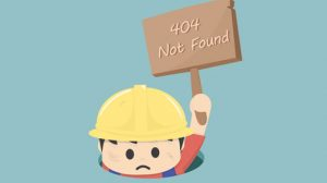 404 Error in WordPress